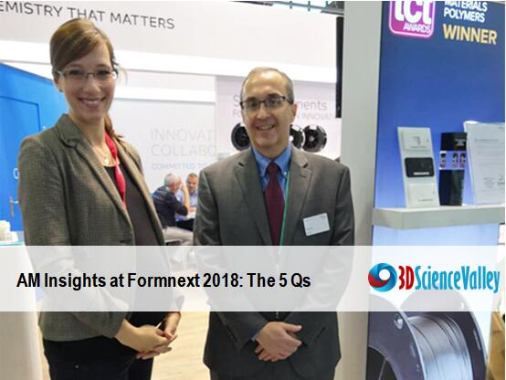 AM Insights at formnext: 3D Science Valley interviewed with Keith